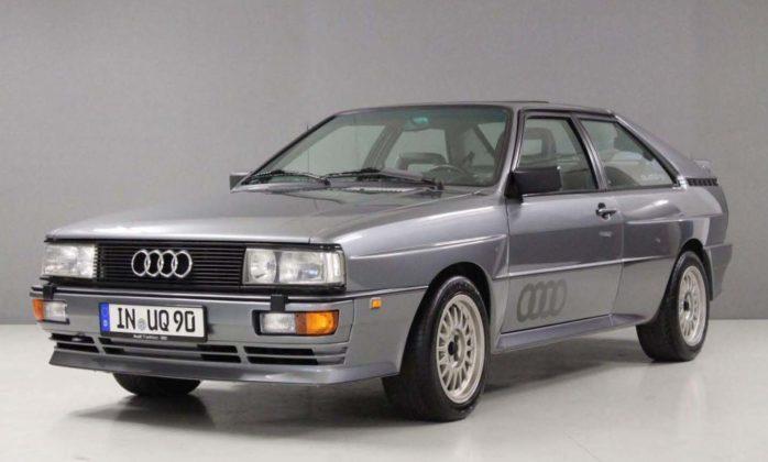 Audi quattro 20v.