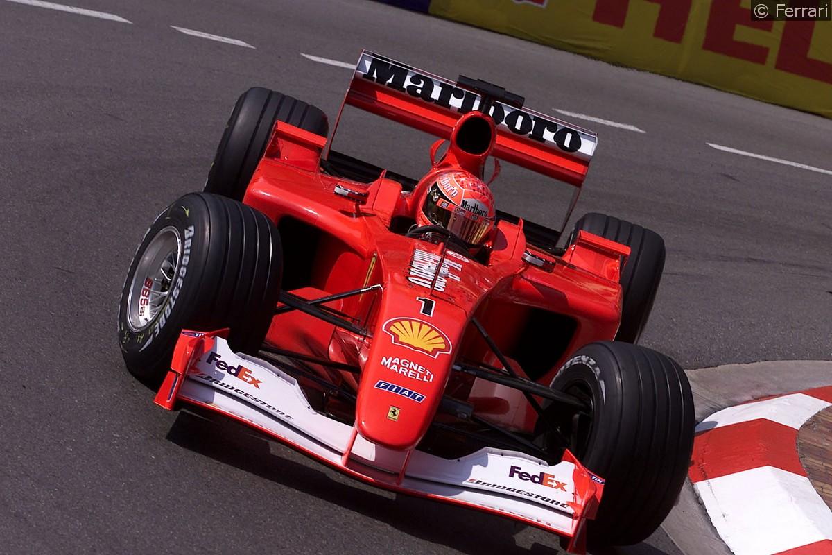 Ferrari F2001 Di Schumi Venduta All Asta Per 7m Sgommo It